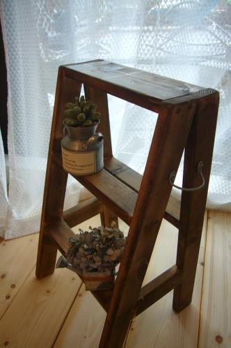 木製ステップ